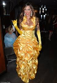 Gaston Halloween Costume Farrah Abraham Shows Job Belle Costume Halloween