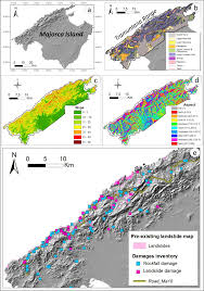 Majorca Spain Map Remote Sensing Free Full Text Landslide Activity Maps