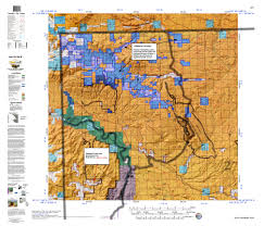 Topographical Map Of Colorado by Products