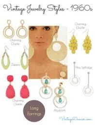 1960 s earrings 1960s jewelry 1960 s fashion jewelry vintage mod jewellery