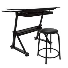 Desk With Drafting Table Blueprint Desk Furniture Drafting Table Set Counter Height Office