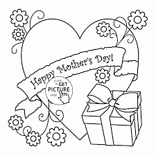mother coloring pages printable big heart for mother u0027s day coloring page for kids coloring pages