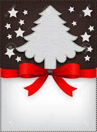 christmas restaurant menu cover tree royalty free cliparts