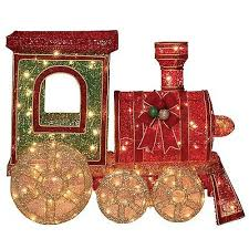 Christmas Decorations Outdoor Train by Large Scale Christmas Decorations Collection On Ebay