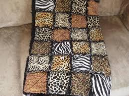 Cheetah Print Blanket Animal Print Baby Quilt Patterns Patterns Kid