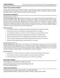Sample Resume For Mechanical Design Engineer Resume Sle For Mechanical Engineer 28 Images Chemical