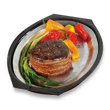 sizzle platter ware sizzling steak serving platter