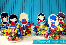 candy containers for favors girl party girl party comic candy