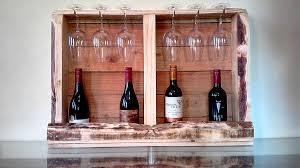 boxed pallet wine rack creator creations