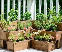 Patio Herb Garden Ideas Patio Herb Planters Outdoor Goods