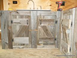 Reclaimed Kitchen Cabinet Doors Pretty Kitchen Cabinets Made From Barn Wood Spacious Reclaimed
