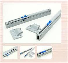 4pcs drawer slide soft close damper cabinet adapter slides glides
