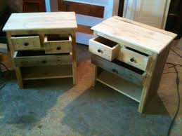 recycled pallet nightstand projects recycled pallet ideas