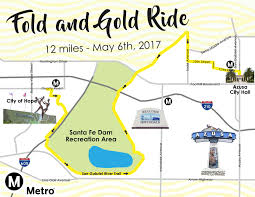 San Gabriel Map Fold And Gold Bike Ride Tickets Sat May 6 2017 At 9 30 Am