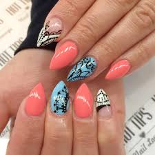 27 pointed nails design pin pointed nail art on pinterest biz