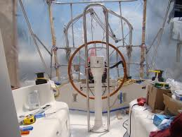 Edson Pedestal Guard Repairing Wet Deck Core Of The Cockpit Floor U2022 Ragged Sails