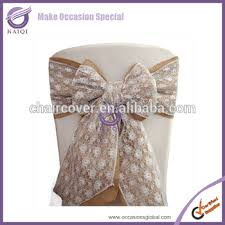 Chair Sashes Wholesale K0892 4 Wholesale Cheap New Chair Tie Backs Lace And Burlap