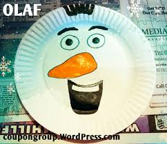easy diy craft for kids olaf frozen the coupon group