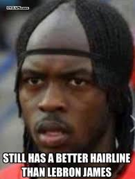 Meme Lebron James - no i in hairline the 50 meanest lebron james hairline memes of