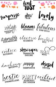 the best handwritten script fonts for your blog fonts blog and
