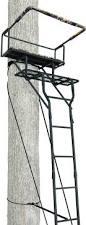 Ameristep Tree Stand Blind Ameristep 15 U0027 Two Man Ladderstand W Realtree Ap Seat Walmart Com
