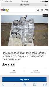 2005 nissan altima transmission jerk jay i have a 2002 nissan altima s 2 5 with an automatic
