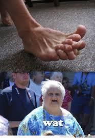Foot Meme - wat foot by boom meme center