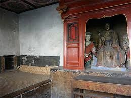 chambre de moine chambre de moines monastère suspendu de xuankong shanxi chine