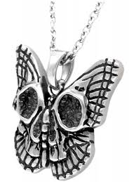 necklace butterfly images Controse butterfly skull necklace jpg