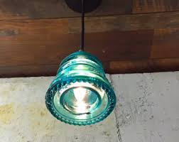 Kitchen Island Lighting Pendants by Pendant Light Glass Insulator Kitchen Island Lighting