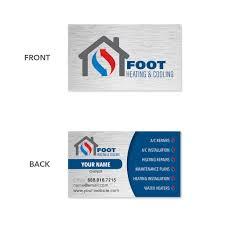 back of business cards design sle business cards footbridge marketing