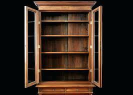 Vintage Bookcase With Glass Doors Glass Door Bookcase Antique Studenty Me