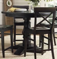 black round dining table set montibello dining room set black round counter height table counter