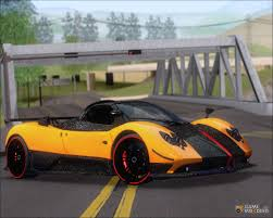 custom pagani pagani for gta san andreas