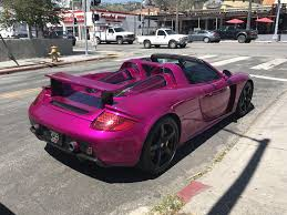 porsche dark red rubystone red carrera gt spotted