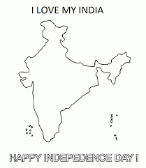 india map coloring page coloring home