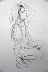 awesome sketches to draw of girls how to draw cartoon characters