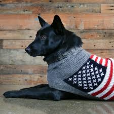 Flag Sweater American Flag Dog Sweater For Dogs Dogids