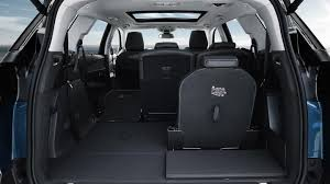 peugeot 5008 dimensions peugeot 5008 suv practicality boot space carbuyer