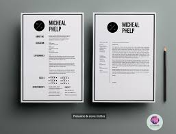 Resume Templates And Cover Letters Cv Template Cover Letter Template U2022 Available Here Https
