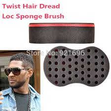 hair twist sponge 2pcs lot magic hair twist sponge dreads twisting locks dreadlocks