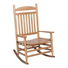 Wood Rocking Chair Natural Wood Rocking Chair It 130828n The Home Depot