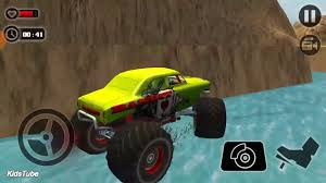 road monster truck derby free mode 13 kidstube fun kid
