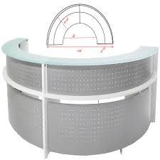 Semi Circular Reception Desk Round Reception Desk Furniture Round Reception Desk Dimensions