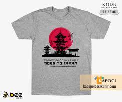 desain baju jepang desain kaos trip ke jepang 2018 untuk keluarga besar wonowidjodjo