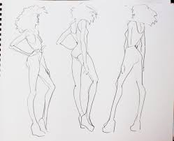 100 fashion sketch template template for fashion design 28
