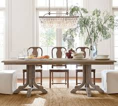 clarissa glass drop extra long rectangular chandelier dining