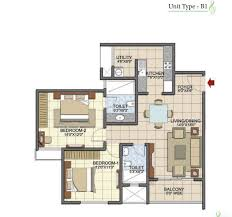 2bhk floor plans 2 bhk apartments in prestige song of the south