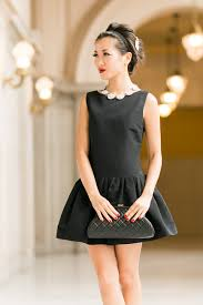 black necklace dress images Black pearl necklace archives pearls only black dress with pearl jpg
