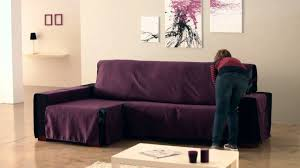 Chaise Longue Sofa How To Install A Chaise Longue Cover Youtube